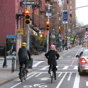 Bike Lane Built for Two, 2008. © Kyle Gradinger/ BCGP