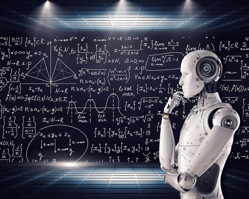 Artificial Intelligence & AI & Machine Learning. C MIke MacKenzie, 2018. Image via www.vpnsrus.com