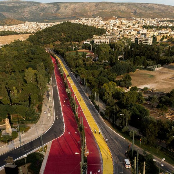 The Grand Walk of Athens