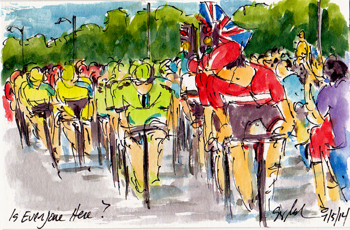 Art of Cycling Is Everyone Here - Small