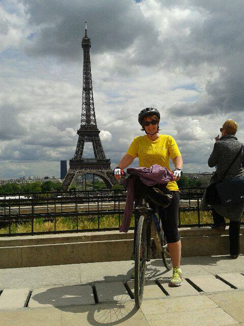 Slow Cycling from London to Paris