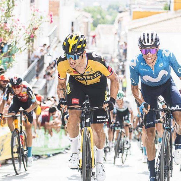 25/08 - La Vuelta 21 - Epata 11 - Antequera-Vandepeñas der Jaén. © Unipublic/ Charly López