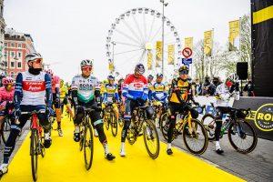 ronde van vlaanderen starting line, 2021. © Digitalclickx
